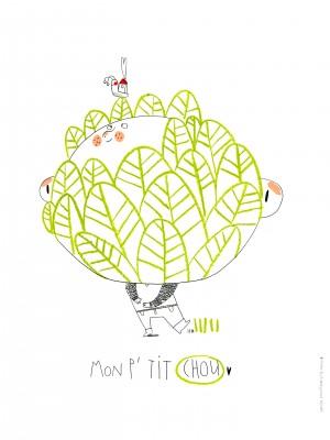 Illustration pour l'association Petite Maman