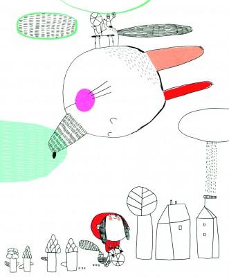 LA maison est en carton, image de la collection n°12 - octobre 2012.